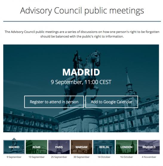 Advisory Council – Google Advisory Council