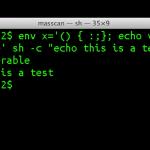Shell Shock: UNIX系のソフト「bash」に重大バグ、システム乗っ取りも