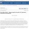 Executive Order   Improving the Security of Consumer Financial Transactions   The White House