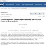消費者の金融取引の安全性向上のための大統領令発布 – クレジットカードのICカード化や政府サイトの多要素認証対応など