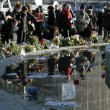 パリの追悼デモ